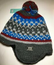 Animal UNISEX  Knitted TIBETAN Beanie ONE SIZE NEW RRP 20
