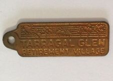 Tarragal Glen Retirement Village Members Badge Pin Original Vintage (E9)