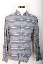 Aeropostale Striped Long Sleeve Button Down Shirt Men's Size L