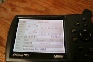 Garmin GPSMAP 196 Aviation