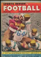 Sports Review Football 1954 J.C.Caroline Melvin Bates   MBX100