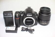 Nikon D40 6.1MP Digital SLR Camera Black Kit AF-S DX 18-55mm F/3.5-5.6 G II Lens
