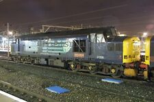 Class 37 37229 in old DRS at Crewe, night shot