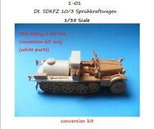 MGM 1-01 1/35 Resin CONVERSION KIT for Dt. SDKFZ 10/3 Sprühkraftwagen-Spray Car