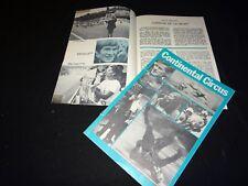 CONTINENTAL CIRCUS ! agostini dossier presse cinema grand prix motos 1971
