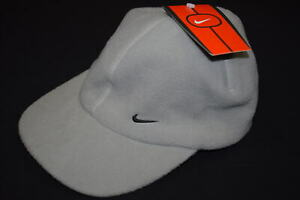 Nike Cap Kappe Hut Hat Schirm Mütze Fleece Winter Snapback Vintage 90s Deadstock