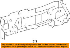 TOYOTA OEM Fender-Outer Rail Left 5702652010