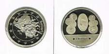 Penning met afbeelding 1 euro en munten Litouwen / Lietuva (a102)