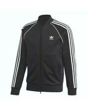 Adidas Originals Superstar SST Track Top  Black & White - BNWT UK Size XL CW1256