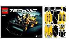 NUOVO LEGO TECHNIC 42030 VOLVO L350F Digger libretto di istruzioni e foglio adesivo