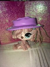 Littlest Pet Shop~#830 Sheepdog Green Eyes AUTHENTIC SPECIAL EDITION W/ HAT