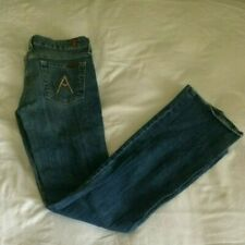 "7 Seven For All Mankind Jeans womans Size 26, 33 Length, Bootcut ""A pocket"""