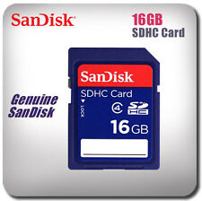 Sandisk 16GB SD/SDHC Memory Card *New & Sealed*