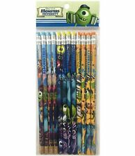 Disney Monster University Pencils School stationary Supplies 12pc