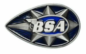 BSA Belt Buckle and Real Leather Belt in Presentation Box