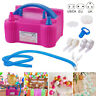 Portable 600W Dual Nozzle Electric Balloon Pump Inflator Air Blower Party