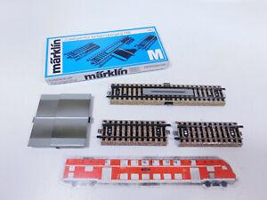 CP541-0,5# Märklin H0/AC 7193 Zusatzgarnitur für Bahnübergang 7192, NEUW+OVP