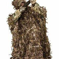 Hunting Leafy Poncho realtree Gillie Coat Suit Camo ground Blind Deer Ameristep