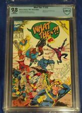 What The -- ?! #25 CBCS 9.8 wp  X-Men Parody Summer Special  cgc