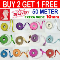 10mm EXTRA Wide Luxury Balloon curling ribbon 50 meters Party Wrapping Baloon