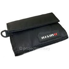 Nismo KWA12-50G00 Tri-Fold Wallet Black / Red Made in Japan Genuine Nissan JDM
