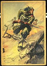 """1940 -  3 Reg. Bersaglieri """"Nulla via impervia"""", firmata Pisani, II edizione"""