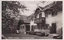 Postkarte - Waldstein i. Fichtelgeb, / Forsthaus u. Restauration