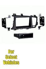 Car Stereo Radio Dash Install Mount Trim Face Kit for 2011/2012/2013 Kia Optima(Fits: Kia)