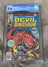 DEVIL DINOSAUR #1 CGC 9.6 NM+ 1ST APPEARANCE KIRBY Moon-Boy Marvel Comics 1978