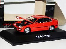 BMW 328i RED OPENING HOOD SCHUCO 4351 1:43
