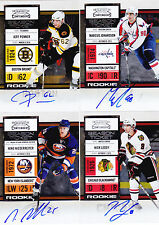 10-11 Playoff Contenders Marcus Johansson Auto Rookie Autograph RC