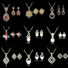 Pearl Alloy Stone Costume Jewellery Sets