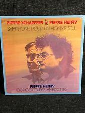 Pierre Schaeffer & Pierre Henry - Symphonie Pour Un Homme Seul LP SEALED Noise