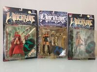 Lot of 3 Witchblade Action Figures Sara Pezzini+Scarlet Medieval  #1 comic