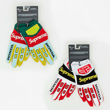 Supreme FW19 Honda Fox Racing Gloves bag waist cap logo camp box