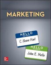 Marketing by John E. Mello and Shane C. Hunt (2015, Hardcover) McGraw Hill