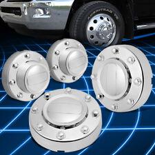 4Pcs Glossy Chrome Wheel Rim Center Hub Caps fits 11-16 Ram 3500 Dually Truck
