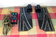 PAIR No.720A AMERICAN FLYER REMOTE CONTROL SWITCHES W/CONTROLLER - NICE!