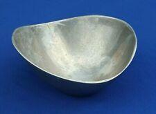 Early Vtg NAMBE Aluminum Alloy Butterfly Bowl #569 Designer Richard K. Thomas