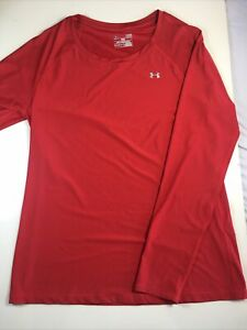 Under Armour Heatgear Men's Compression Fitted Long Sleeve Size L