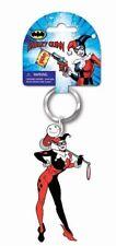 DC Comics Harley Quinn Figural Soft Touch PVC Key Ring Keychain UNUSED Batman