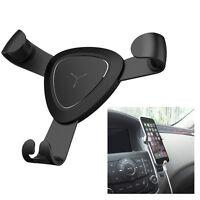 Black Car Phone Rack 360°Adjustable Car Air Vent Mount Holder for Mobile Stand