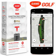 """NEW 2017"" GAME GOLF TAGS GOLF TRACKING SYSTEM FOR ANDROID SMART PHONES"