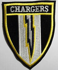 """SAN  DIEGO  CHARGERS    PATCH   4  3/4"""" X  3  3/4""""      L  A   CHARGERS"""