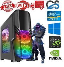 Ultra Rapide Pc Gaming Intel Core i7 2nd Génération 16GB Ram 2tb 4gb GTX1050Ti