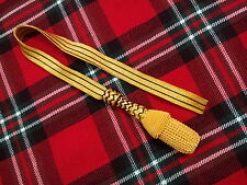 NEW BRITISH ARMY SWORD KNOT GOLDEN WIRE/GERMAN SWORD KNOT/ROYAL NAVY SWORD KNOT