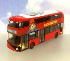 CORGI 1/76 DIECAST NEW ROUTEMASTER LONDON BUS ROUTE 1 PADDINGTON BEAR 2 MOVIE!!