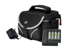 Fujifilm XL05 Accessory Travel Bag Kit Compact Digital Cameras taking AA battery