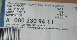 MERCEDES A-KLASSE (W168) Klimakompressor A0002309411 Denso