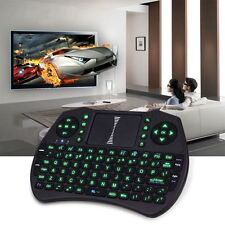 Wireless Air Mouse Backlight Remote Control Keyboard Touchpad for TV box Xbox PC